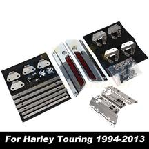 harley saddle bag hardware