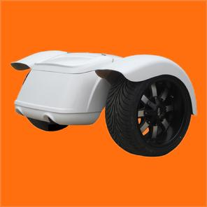 fiberglass trike body with trunk