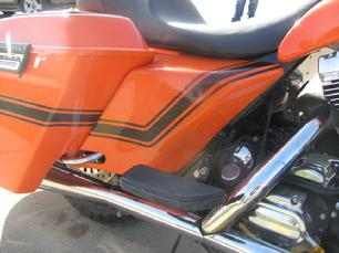 harley bagger extended stretched side covers