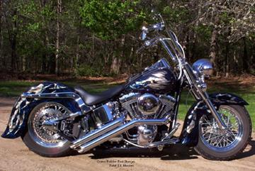low boy sweeper softail