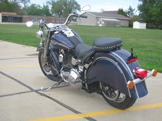 softail, fatboy, heritage, indian fender shown on 03 HERITAGE