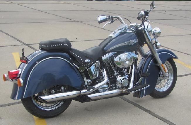 indian style fenders for harley fatboy softail hertiage